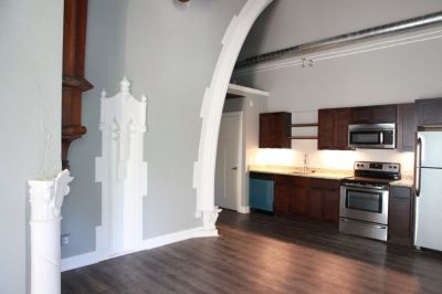 Apartment for rent 2 Bedroom Loft in Historic Church