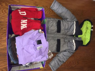 Fall/winter 4T lot with coat. ONLY $3