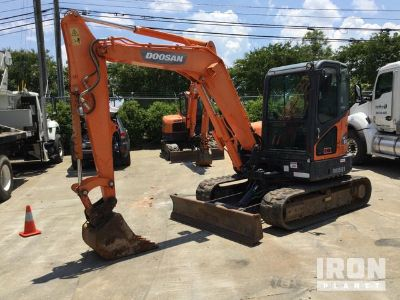 2014 Doosan DX63-3 Mini Excavator