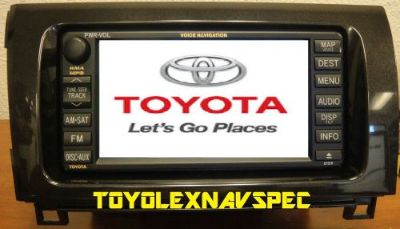 Purchase TOYOTA TUNDRA SEQUOIA GPS NAV NAVIGATION RADIO NON JBL 2007 TO 2013 COMPLETE KIT motorcycle in Warren, Michigan, United States, for US $800.00