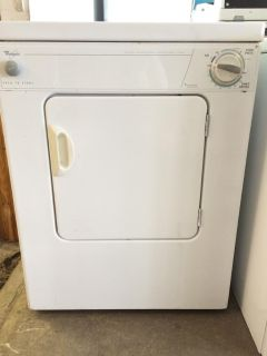 $250, Whirpool 110V Electric Dryer in White