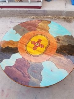 Sunrise NM style coffee table
