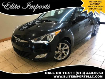 2017 Hyundai Veloster Value Edition 3dr Coupe (Black)