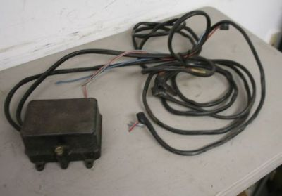 Sell USED OEM OMC JOHNSON EVINRUDE TRIM RELAY SOLENOID BOX motorcycle in Scottsville, Kentucky, United States, for US $49.99