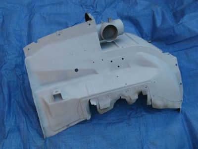 Purchase 1955 FORD INNER FENDER BATTERY SIDE PASSENGER NO RUST 1956 CROWN VICTORIA motorcycle in Van Nuys, California, United States, for US $225.00
