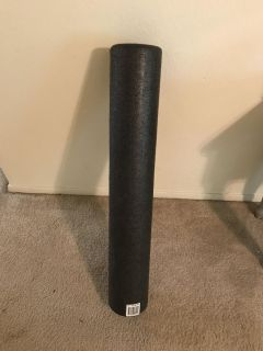 SPRI Hard Foam Back Roller - 3 feet long. It s never been used and they run 25.00 to 45.00 new.