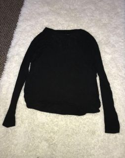 Urban Planet black long sleeve with pocket xsmall