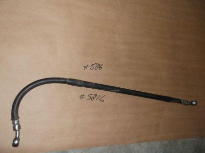 Purchase 1996 - 1998 CR80 CR80R Honda Rear Brake Line Hose CR80 R 43125-gbf-831 motorcycle in Sevierville, Tennessee, US, for US $10.99