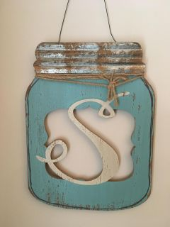 Cute Mason Jar Door Hangers