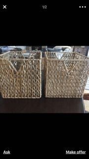 LOOKING FOR THESE BASKETS/STORAGE BINS FROM IKEA
