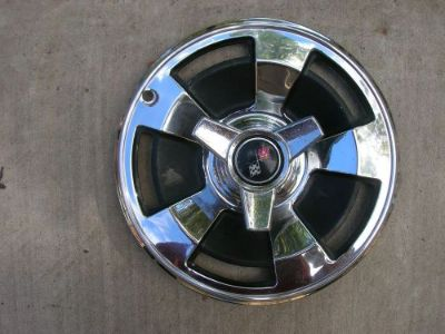 Sell GM 1966 66 CORVETTE WHEELCOVER HUBCAP EARLY TAKE OFF ? 327 FI motorcycle in Claremore, Oklahoma, United States, for US $133.00