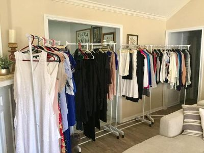 Ladies & Baby clothes & shoes