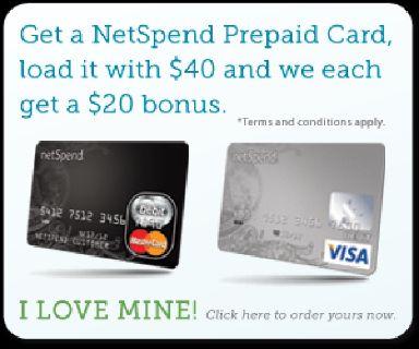 New Netspend Card Offer
