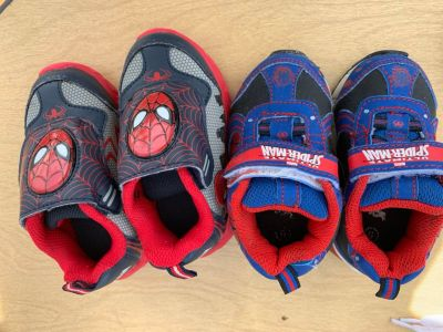 Spiders shoes size 5 and 6 Both for 10.
