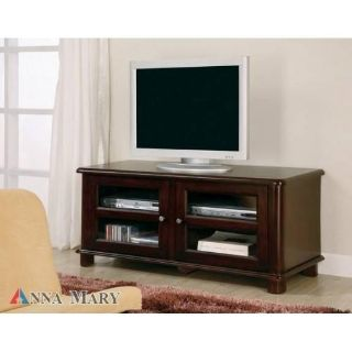 "BRAND NEW Cappuccino TV STAND MEDIA CONSOLE 44"" WIDE FULLY ASSEMBLED!"