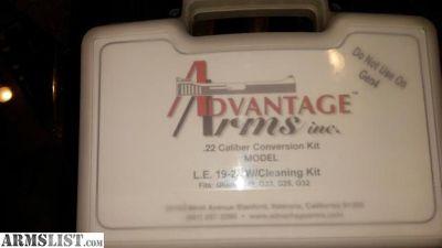 For Sale: Advantage Arms Inc 22lr conversion g19-23 Gen3 used