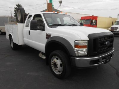 "Used 2008 Ford Super Duty F-450 DRW 2WD SuperCab 162"" WB 60"" CA XL, 190,492 miles"