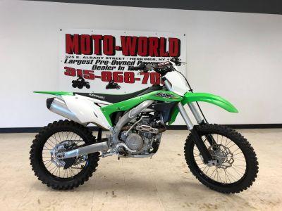 2017 Kawasaki KX450F Motocross Motorcycles Herkimer, NY