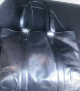 Extra Large Black Coach Tote