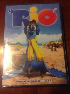 New Rio DVD plastic wrap intact
