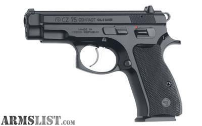 For Sale: New in box CZ 75 compact 9mm