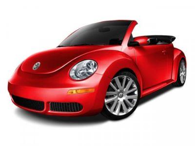 2010 Volkswagen New Beetle Base PZEV (Aquarius Blue)