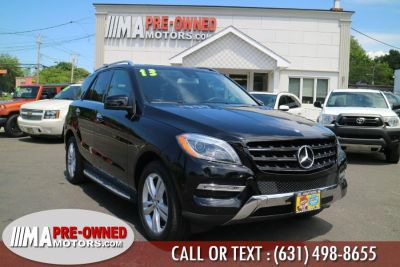 2013 Mercedes-Benz M-Class ML350 4MATIC (Black)