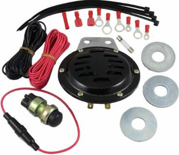 Sell UNIVERSAL 12 VOLT HORN KIT FITS EZGO, EZ-GO, CLUB CAR, YAMAHA GOLF CARTS NEW motorcycle in Oxford, Massachusetts, United States, for US $26.99