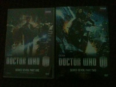Doctor Who  Series 7 Part 1  Part 2 DVD BRAND NEW (Garland)