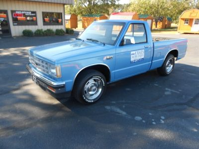 1987 Chevrolet S-10 Base (Blue)