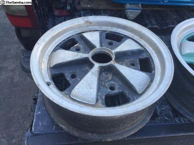 Original wide 5 Porsche alloys