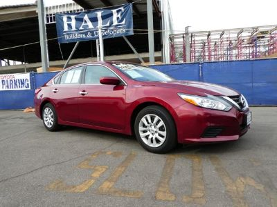 2016 Nissan Altima 2.5 (red)