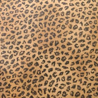 2 pieces designer leopard print wallpaper for small project