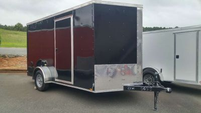 2018 Other New 7x12 VNose Enclosed Trailer