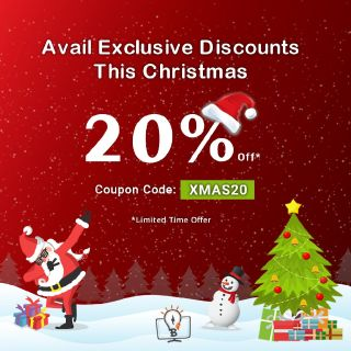Special Discount Offer On Christmas - Brush Your Ideas