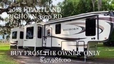 Buy from the Owner - 2018 Heartland Bighorn 3970 RD