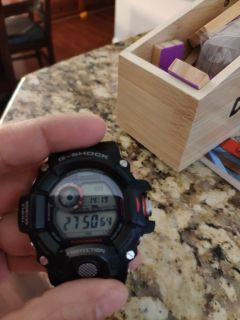Casio rangeman watch