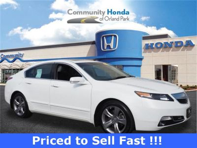 2012 Acura TL SH-AWD w/Tech (Bellanova White Pearl)