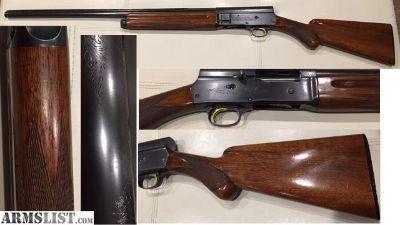 For Sale: Browning A5 1957 12 ga light Mod. choke vent rib 2 pc lifter