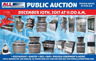 Bakery Equipment on Sale