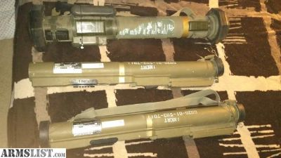 For Sale: Inert launchers