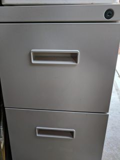 HEAVY DUTY 2 Drawer BUSINESS File Cabinet