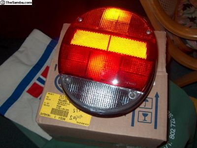 Tail light assys and lenses