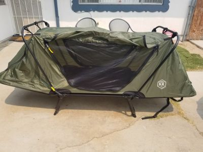 Two new Cots for camping. 100 a peice obo