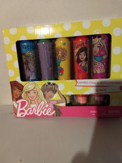 New Barbie Chalk and Holders