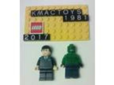 lego batman bruce wayne killer croc X2 minifigs Authentic