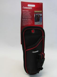 NEW-Husky Knife Pouch with belt clip and loop