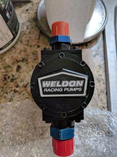 Weldon mechanical fuel pump