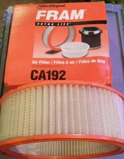 Buy New Fram CA192 6419892 6483864 Air Filter Fits1964-1994 Chevrolet Pontiac GM motorcycle in Lannon, Wisconsin, United States, for US $10.00