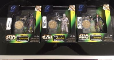 Star Wars Action Figures With Coins
